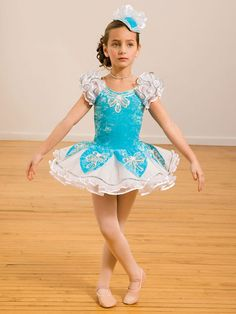 This is the costume Airiana is wearing for ballet.