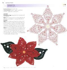 100 Lace Flowers To Crochet (Красивая коллекция декоративных цветов и листьев крючком). Обсуждение на LiveInternet - Российский Сервис Онлайн-Дневников