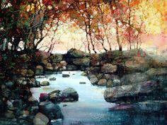 Z.L. Feng landscape paintings