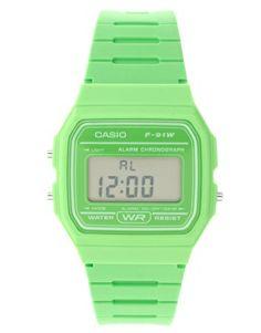 Casio F-91WC-3AEF Digital Green Watch
