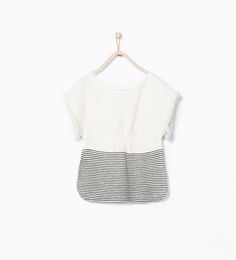 ZARA - SALE - Fringed sleeve poncho