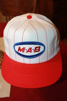 259c106b88631 Vintage 1980s MAB Paints Patch Snapback Hat Cap-K Products-Made in USA   fashion  clothing  shoes  accessories  mensaccessories  hats (ebay link)