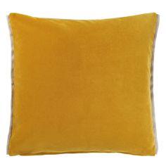 Varese Amber Decorative Pillow design by Designers Guild Homeware Uk, Fabric Houses, Burke Decor, Velvet Cushions, Designers Guild, Luxury Home Decor, Fabric Wallpaper, Pillow Design, Decorative Pillows