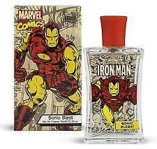 Marvel Comics Iron Man Sonic Blast Eau De Toilette Aftershave 75ml Mens Gift