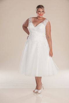 London Plus Size Wedding Dress From Perfection Bridal