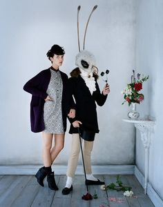 "Vogue Japan ""Family Affair"" Photographer: Tim Walker Model:Unk Styling: Jacob K Hair: Malcolm Edwards Make-Up: Sam Bryant"