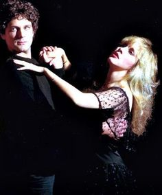 Stevie Nicks and Lindsey Buckingham ......Uploaded By  www.1stand2ndtimearound.etsy.com
