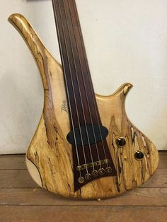 Have a great Sunday #marleaux #bassguitar #bass #diva #fretless #5string #delano #justfinished #spalted