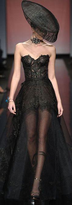 Gattinoni. I love the dress!