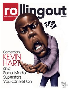 Comedian Kevin Hart and social media superstars you can bet on