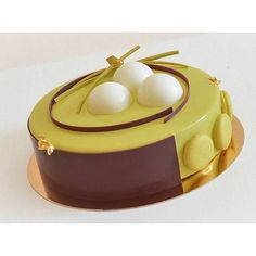G Pastry Art, Pastry And Bakery, Bakery Style Cake, Cheesecakes, Decoration Patisserie, Single Layer Cakes, Pistachio Cake, Gourmet Desserts, Frozen Cake