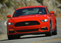 2015 EcoBoost Mustang Red
