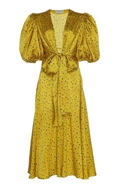 Get inspired and discover Silvia Tcherassi trunkshow! Shop the latest Silvia Tcherassi collection at Moda Operandi. Satin Midi Dress, Silk Mini Dress, Satin Dresses, Women's Dresses, Flapper Dresses, Silk Skirt, African Fashion Dresses, Fashion Outfits, Fashion Skirts