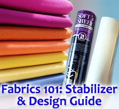 Embroidery Tutorials Embroidery Library - Fabrics 101 Articles lots of great information here. I am going to print this out and place in my folder Brother Embroidery Machine, Machine Embroidery Projects, Machine Embroidery Applique, Embroidery Monogram, Crewel Embroidery, Embroidery Ideas, Viking Embroidery, Learn Embroidery, Modern Embroidery
