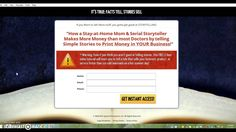 Make Money Telling Stories Click here to access training: http://mlsp.co/l2trx