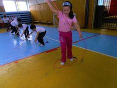 "Netradičná olympiáda: ""ŠVIHADLOVÉ HRÁTKY"" Basketball Court, Exercise, Sports, Activities, Ejercicio, Hs Sports, Excercise, Work Outs, Sport"
