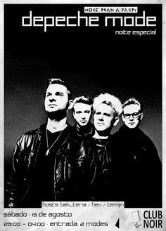 MORE THAN A PARTY IV - Especial ►EPECHE ▲▲ODE Sábado 15 de Agosto Evento: https://www.facebook.com/events/447212252127134/ #Post-Punk ✹ #New Wave ✹ #Alternative ✹ #80s ✹ #Synthpop Hosts ► Hex + Bak Teria + Temjin Entrada ► 2 Modes Aberto das 23h às 4h ..e para os DEVOTEES: Quanto aos #DEPECHEMODE, podem contar com: Originais► B-Sides► Remixes► Live Versions► Projectos Paralelos & até algumas raridades.