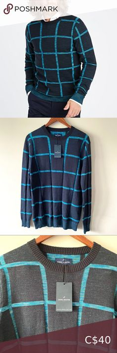 I just added this listing on Poshmark: NWT Daniel Hechter Paris space dye grid sweater. #shopmycloset #poshmark #fashion #shopping #style #forsale #Daniel Hechter #Other