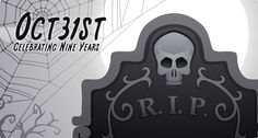 Halloween website with lots of recipes, how to, wallpaper, wine labels and more!