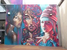 Adnate + Sofles + Smug - Northland Shopping Centre