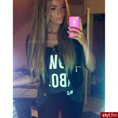 Her hair!!!!!