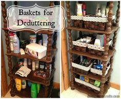 Reorganize Problem Clutter Areas with Baskets