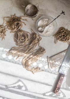 Buckwheat Tagliatelle   Hortus Cuisine