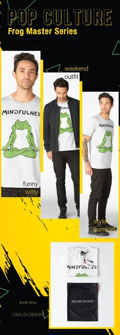 Men's Premium T-Shirt Frog Master - Mindfulness by LisaLiza Redbubble.   Get one today! Men's & Women's Sizes available.   Check out our full catalog for tons of funny ,witty & cool pop culture inspired t shirt   #PopCulture #ForTeens #Teens #Cool #Funny #Witty #Gifts #FrogMaster #RedbubbleMen #Mindfulness  #Lisaliza #Frog #Redbubble #tumblr #Pet