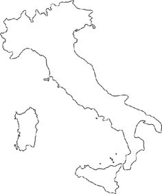 Map of Italy printable | Fun for kids | Pinterest | Italy ...