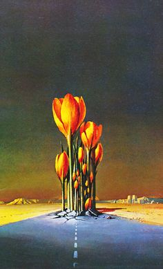 BRUCE PENNINGTON - We will Arise from the book The Flights of Icarus (1977) by Donald Lehmkuhl with Martyn and Roger Dean
