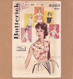 Butterick 9380: great tops!