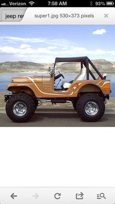 1973 CJ5 Super Jeep - I like the detailing and the way it flows with the jeep