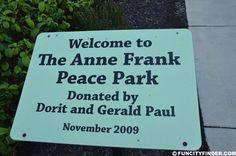 Ann Frank Plaque at Indianapolis Children's Museum