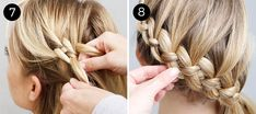 Four-Strand Braid: Steps 7-8