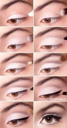 Maquillaje blanco y negro