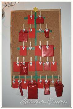 Calendario dell'avvento - Advent calendar DIY