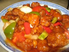 Sweet and Sour Chicken Recipe |Chinese Food Recipes 中餐食谱