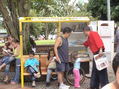 """El Biblioburro"" (Donkey Library) and Other Mobile Libraries 