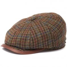 Stetson hats available from Stuarts London. Click and view all out latest Stetson caps online. Caps Hats, Men's Hats, Newsboy Cap, Flat Cap, Harris Tweed, Green And Brown, Hats For Men, Stylists, Stetson Hats