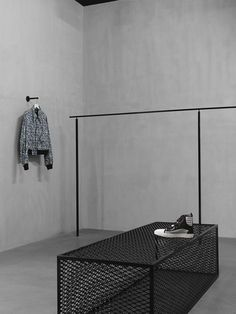 Home Decorating DIY Projects : Mahani Concept Store – Faye Toogood -Read More – Retail Interior Design, Retail Store Design, Retail Stores, Design Shop, Design Design, Clothing Store Design, Concrete Interiors, Store Layout, Retail Concepts