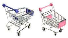 Mini Shopping Cart Shopping Cart Storage Toy Pencil Holder $3.20 - http://supersavingsman.com/mini-shopping-cart-shopping-cart-storage-toy-pencil-holder-3-20/