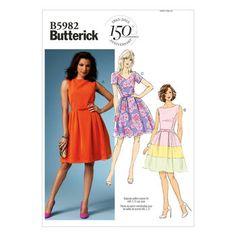 Mccall Pattern B5982 8-10-12-14-Butterick Pattern