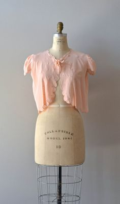 1930s bed jacket