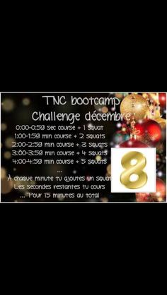 Day 8. Advent training calendar. Follow us on facebook for everyday 15 minutes intense training until christmas! #TNCBootcamp