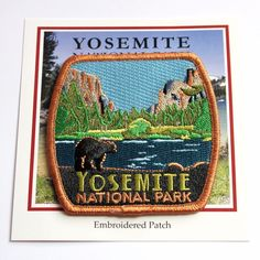 Official Yosemite National Park Souvenir Patch Black Bear California | Collectibles, Souvenirs & Travel Memorabilia, United States | eBay!