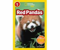 Cover image for National Geographic Readers: Red Pandas