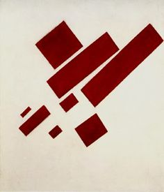 Kazimir Malevich, Suprematist Painting: Eight Red Rectangles, 1915
