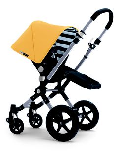 Bugaboo Cameleon. I love the yellow & stripes, very cute.
