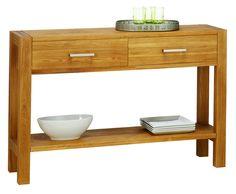 Konzol asztal SILKEBORG 120x80x35 tölgy   JYSK