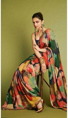 Fashion is like food; you shouldn't stick to the same menu. #clothing #fashion #style #streetwear #clothes #art #brand #fashionblogger #model #streetstyle #instagood #design #outfit #clothingline #fashionista #designer #outfitoftheday Pure Georgette Sarees, Satin Saree, Chiffon Saree, Georgette Fabric, Indian Fashion Dresses, Indian Designer Outfits, Indian Outfits, Indian Fashion Trends, Fashion Outfits
